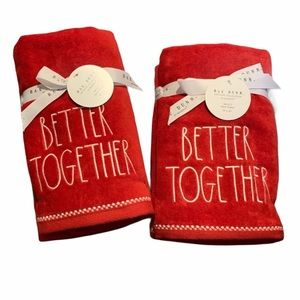 Rae Dunn Better Together Hand Towels